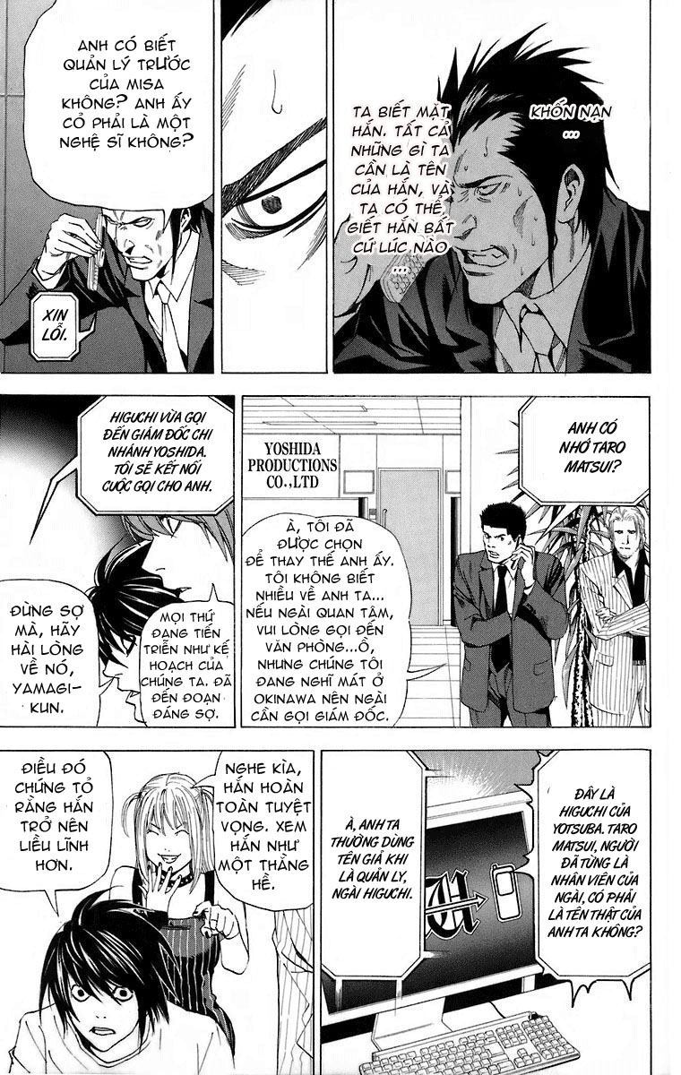 Death Note chapter 050 trang 20