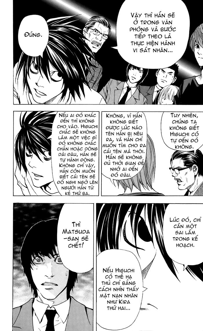 Death Note chapter 049 trang 21