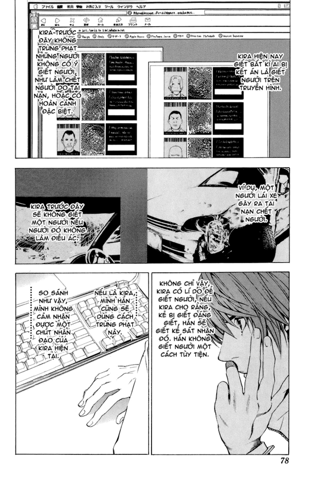 Death Note chapter 047 trang 5