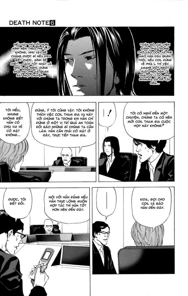 Death Note chapter 046 trang 7