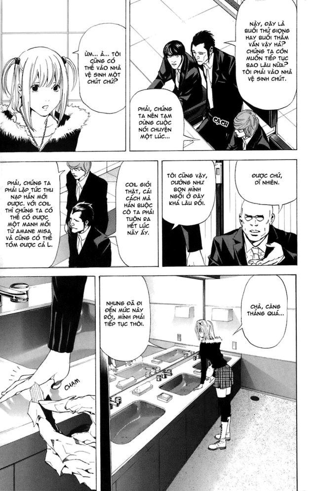 Death Note chapter 046 trang 21