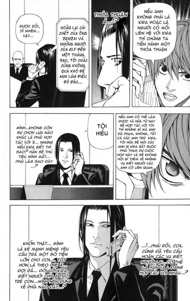 Death Note chapter 044 trang 19