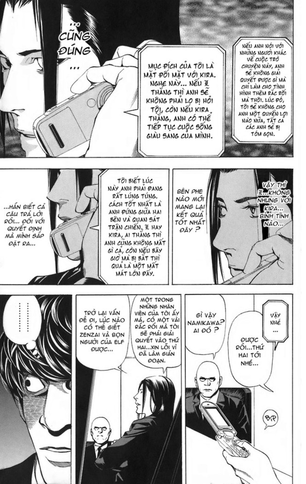 Death Note chapter 044 trang 20