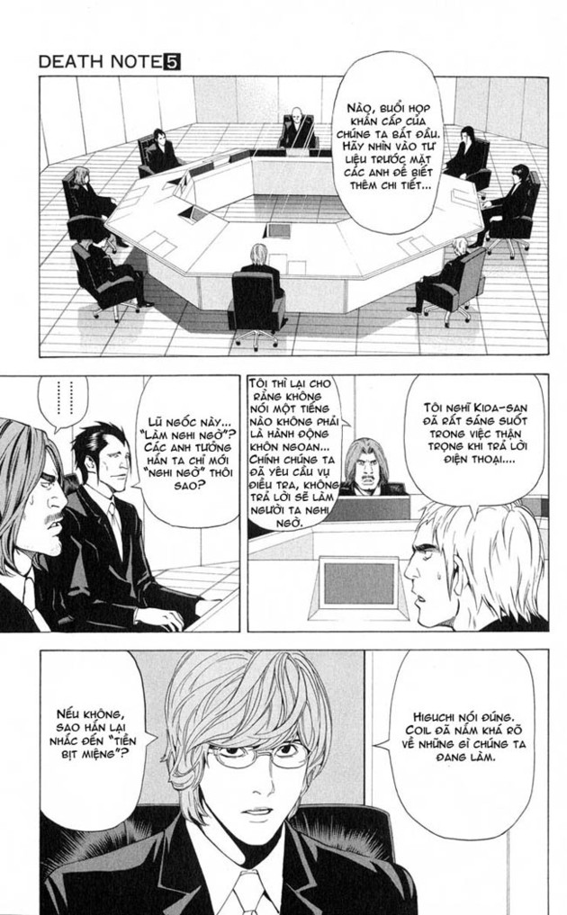 Death Note chapter 043 trang 8