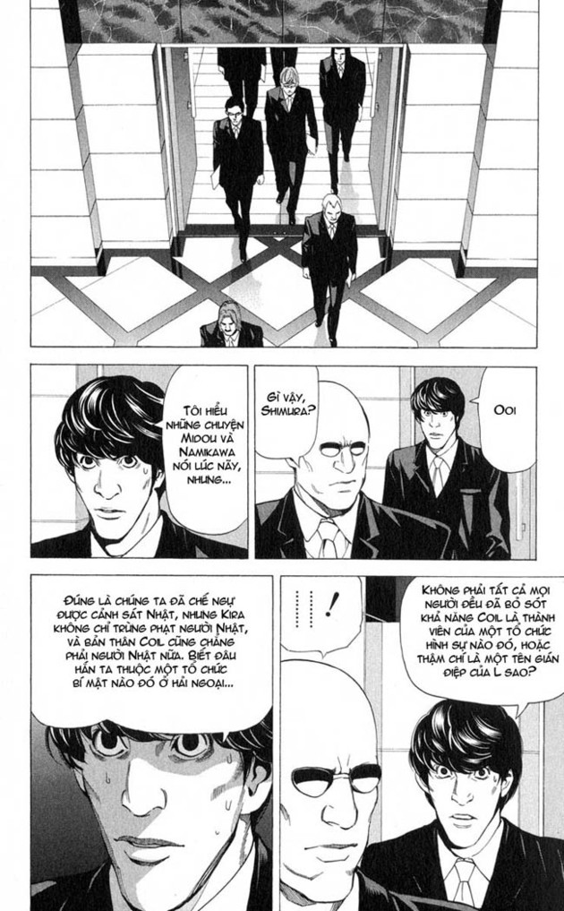 Death Note chapter 043 trang 17