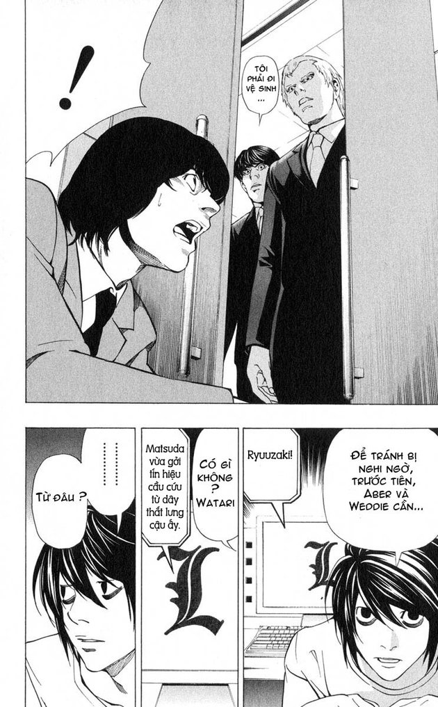 Death Note chapter 041 trang 19