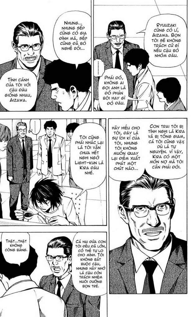 Death Note chapter 040 trang 8