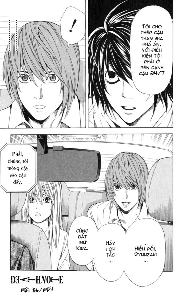 Death Note chapter 036 trang 19