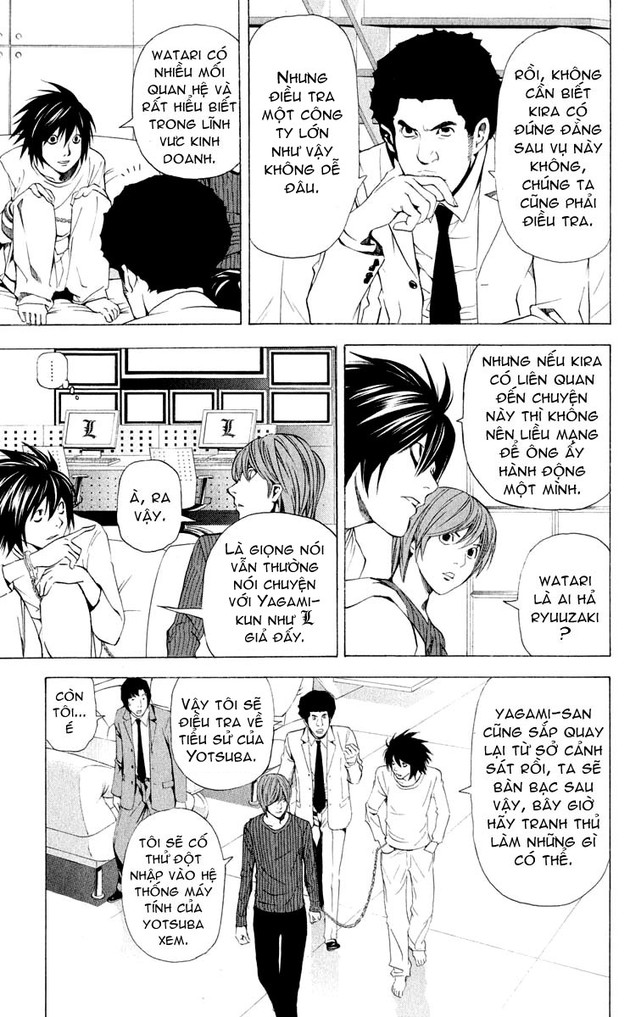 Death Note chapter 039 trang 9