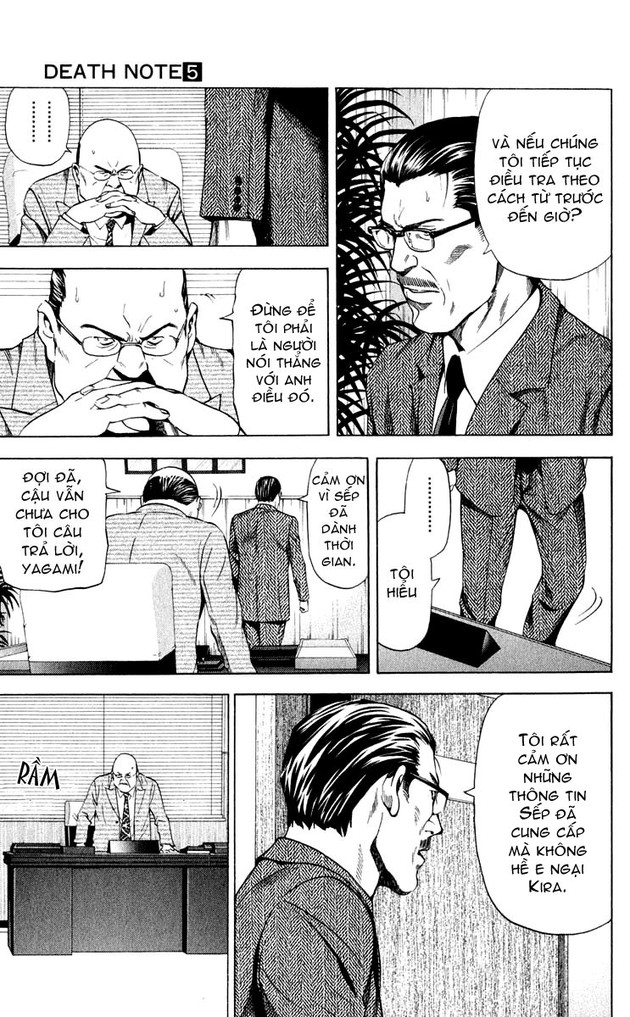 Death Note chapter 039 trang 15