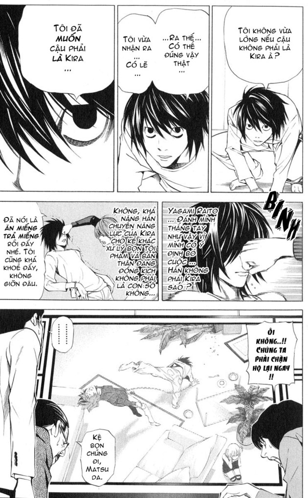 Death Note chapter 038 trang 15