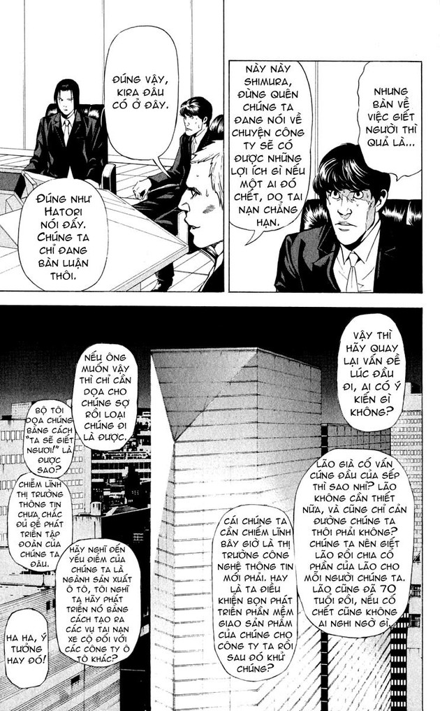 Death Note chapter 037 trang 21
