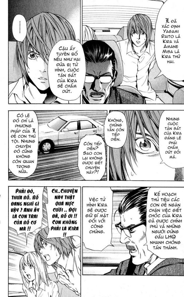 Death Note chapter 036 trang 10