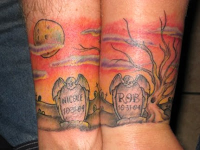 Animals Tattoo Toe Ring Tattoo