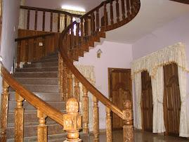 Kerala Architecture Cast Iron Gates Interlock Tiles And