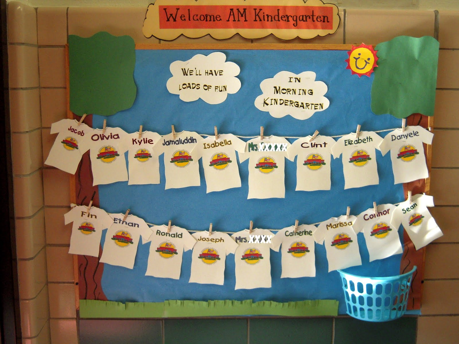 A Summer S Day Bulletin Boards