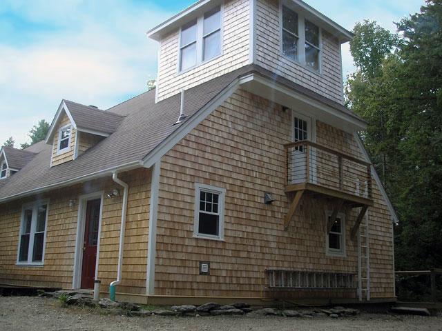 C K Cedar Shingles On A House