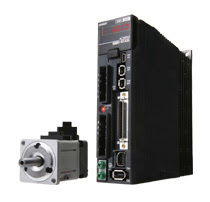 Omron G5 Series AC Servo Motors and Servo Drives