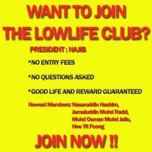 Low Life Club Poster