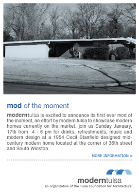 Modern Tulsa's first Mod of the Moment open house