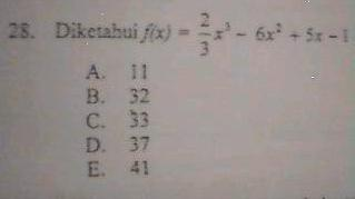 Kesalahan Soal Ujian Nasional Matematika TP. 2008/2009