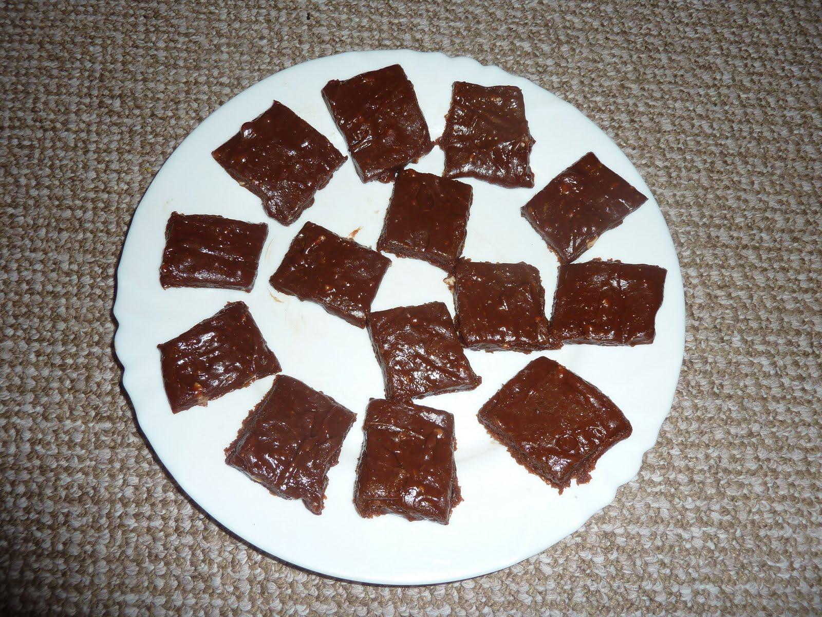 FriendsFeast: Madhus' recipe: Chocolate burfi