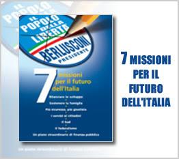 7 missions de berlusconi, popolo della liberta,élections italiennes, rome en images, italie