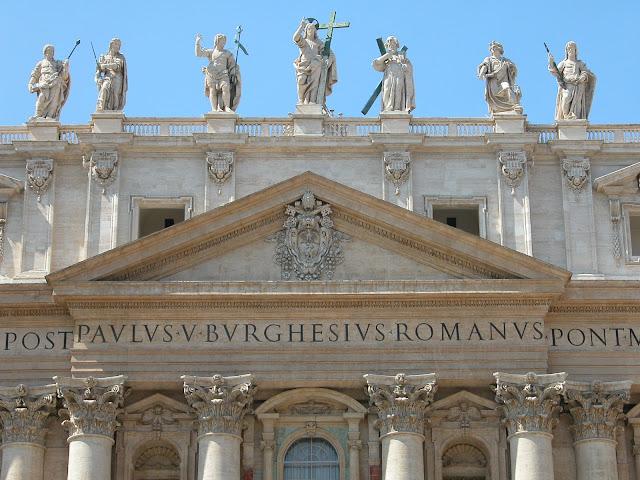 basilique saint pierre, vatican, rome, italie, rome en images
