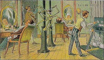 Paleofuture - Paleofuture Blog - French Prints Show the Year 2000 (1910)