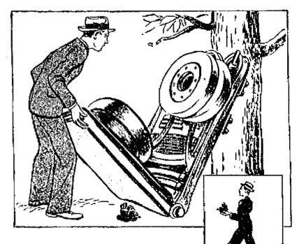 Paleo-Future: Everyman's Folding Auto (1939)