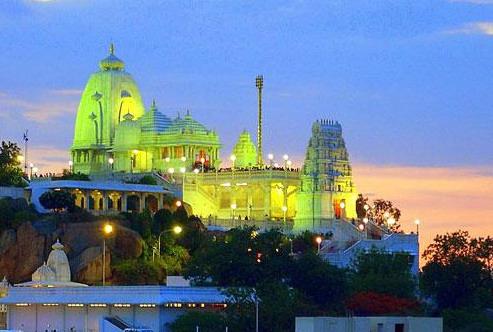 Beautiful Hyderabad City Birla Mandir