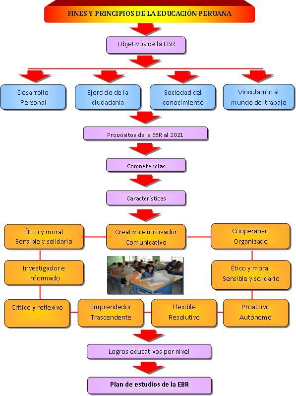 Dise o curricular nacional fines y principios de la for Diseno curricular educacion primaria