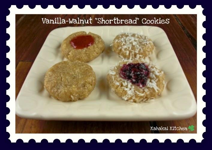 Kahakai Kitchen Vanilla Walnut Quot Shortbread Quot Cookies A