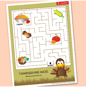 Chasing Tiny Feet More Free Thanksgiving Printables Games