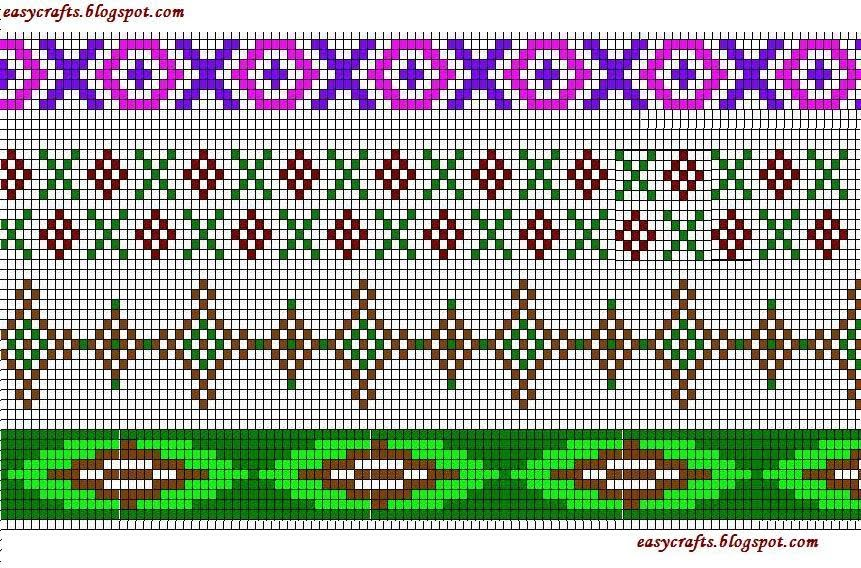 Cross Stitch Border Designs Free