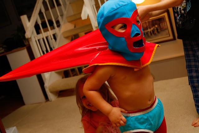 Nacho Libre Kid