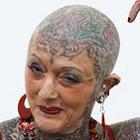 Idosa mais tatuada do mundo!