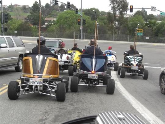 Carrinhos de Bate-Bate pra andar na rua!