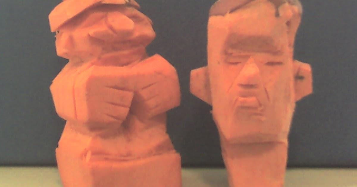 Anything Goes Simpleton Geek Yam Carving