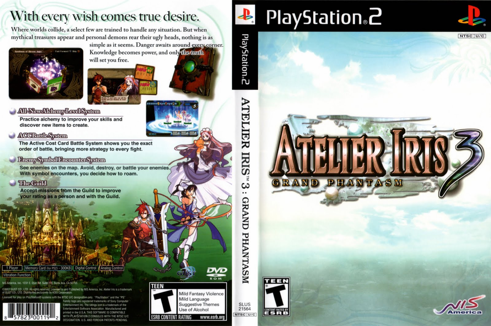 🔥 Atelier Iris 3: Grand Phantasm for PlayStation 2 - GameFAQs