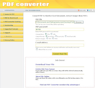 Online Convert your Document to PDF 1