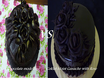 Kelas Chocolate Modelling & Coklat Moist Ganache With Rose