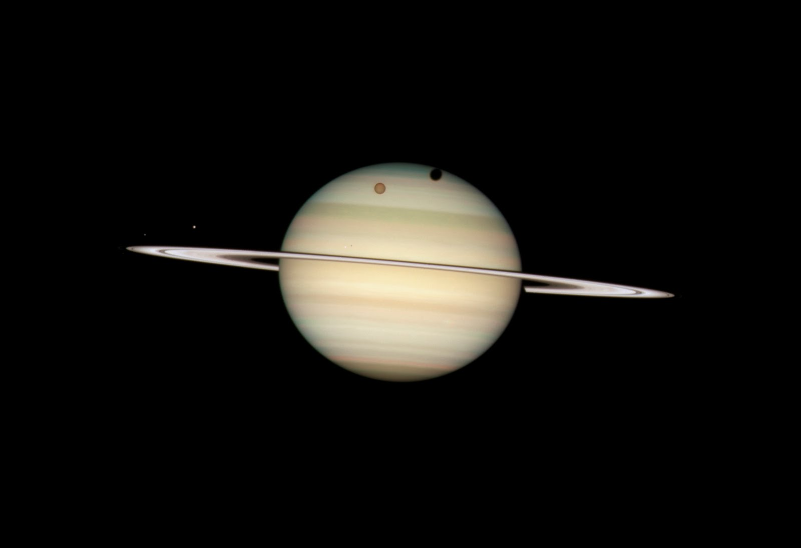 Space Planet Saturn