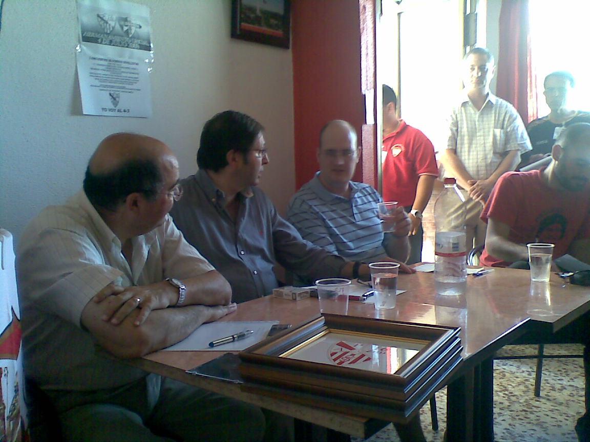 Agustín Rodriguez, Guiulius, Sebas Cardenas y Joan Morán