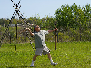 Iroquois Indian Museum Offers Early Technology Day