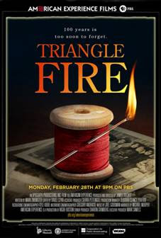 Broadcast Marks 100th Anniversary of Triangle Factory Fire