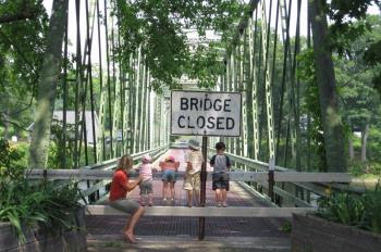 Snowmobilers Partner to Help Save Historic Bridge