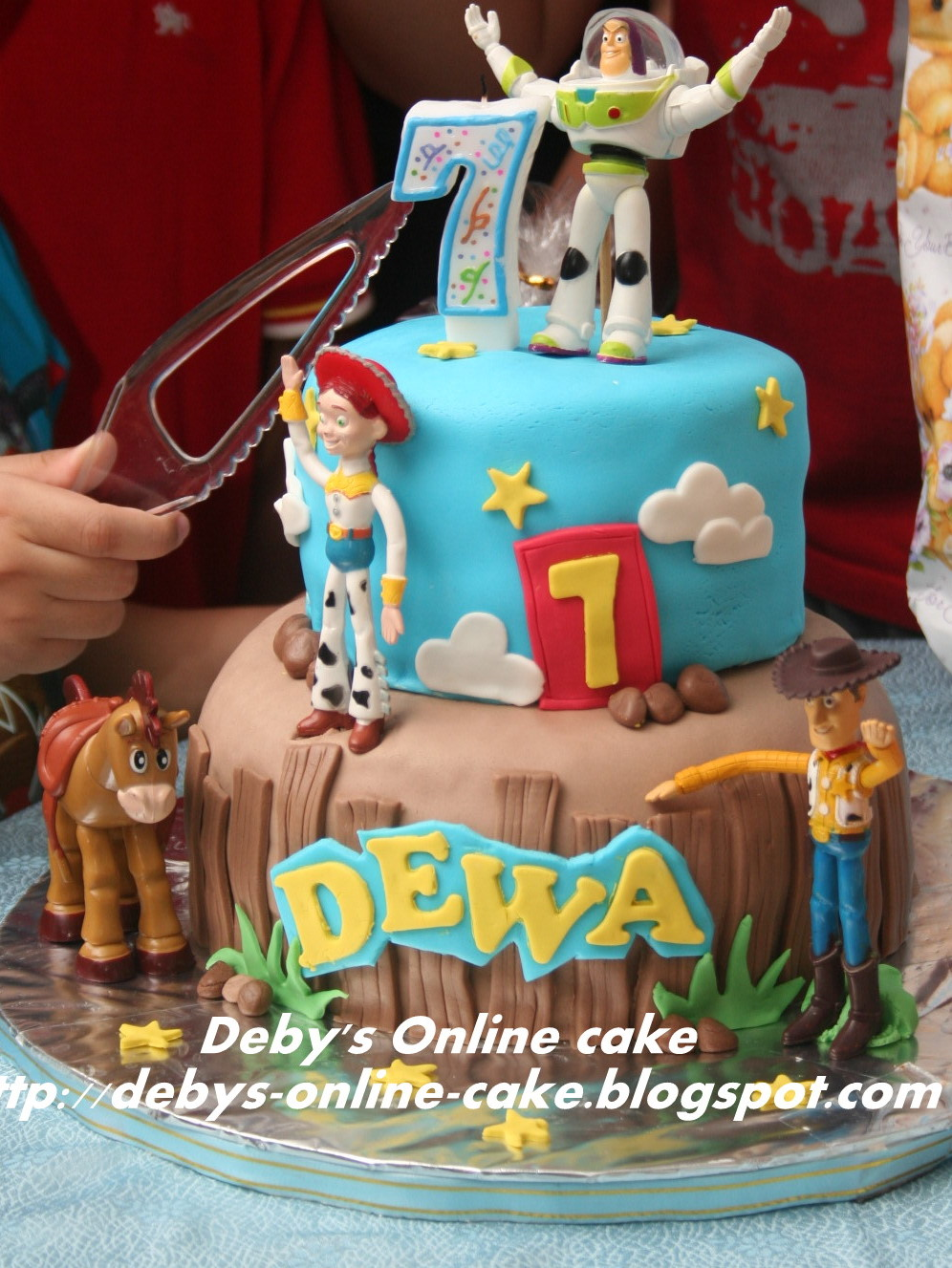 Butterfly Cake Toy Story Theme Cake For Dewa
