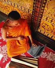 The dual-tasking meditation master