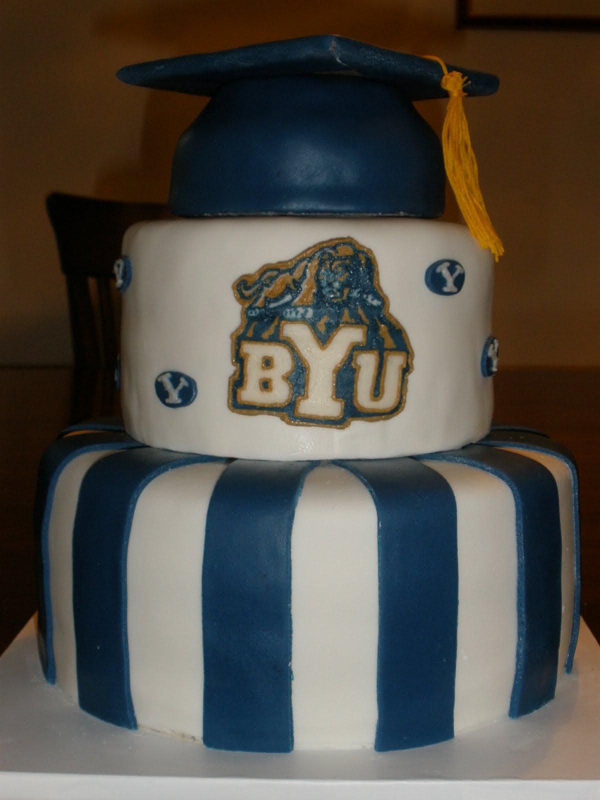 It S A Piece Of Cake Byu Graduation Cake